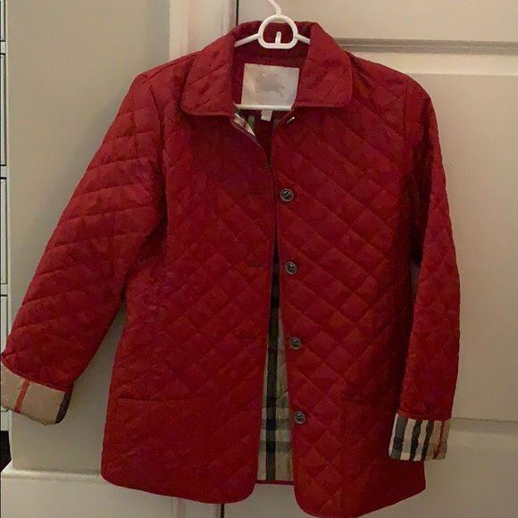0be2feb972e09 Burberry Jackets & Blazers - Burberry quilted children's jacket size 14y